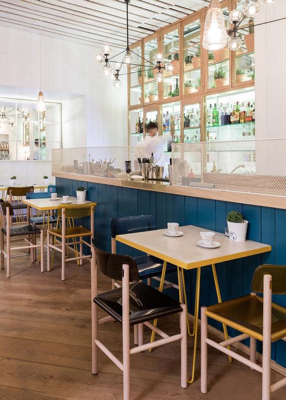 ElPintón de Lucas y Hernández-Gil Arquitectos | Intérieurs de restaurant