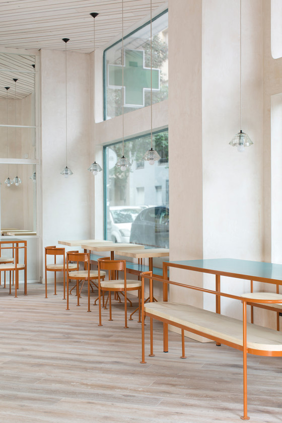 Juana Limón by Lucas y Hernández-Gil Arquitectos | Café interiors