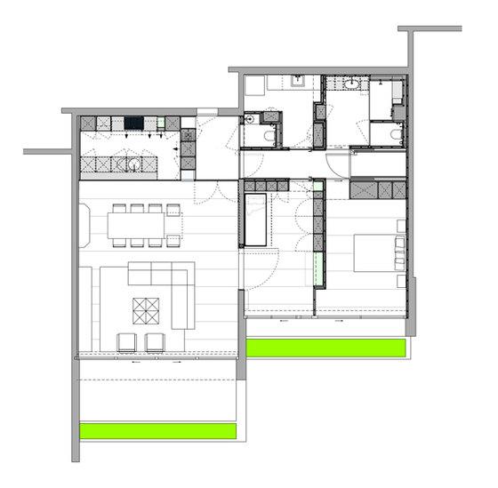 LVDV by i.s.m. architecten | Living space