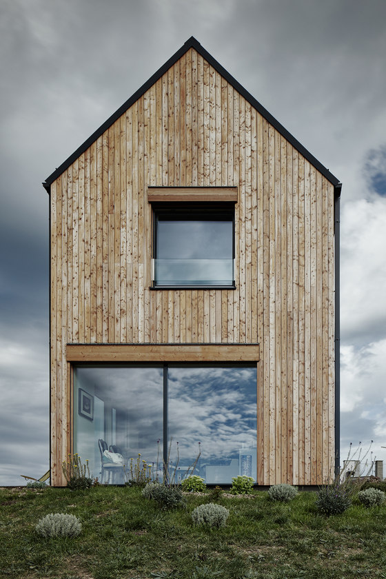 The House for Markétka by Mjölk architekti   Detached houses