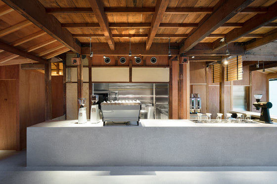 Blue Bottle Coffee Kyoto Cafe by Schemata Architects | Café interiors