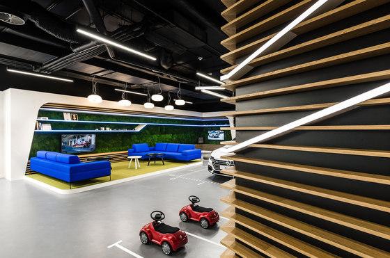 Volkswagen Home de mode:lina architekci   Bureaux