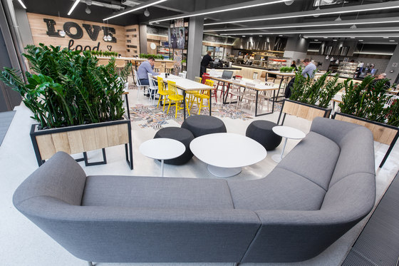 Restaurant In Lidl Headquters De Mode Lina Architekci Interieurs