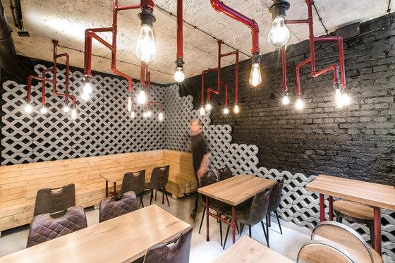Bistro Rusztowanie by mode:lina architekci | Café interiors
