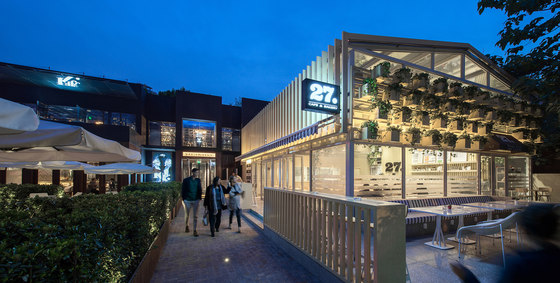 Cafe 27 - Flagship in Beijing by Four O Nine | Café interiors