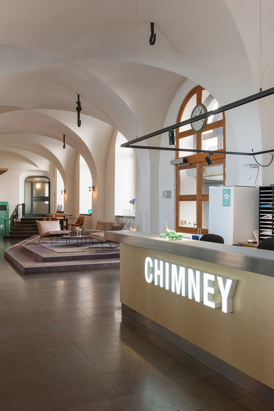 Chimney by pS Arkitektur | Office facilities