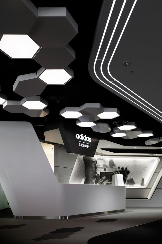 Adidas Japan Headquarters Office By Garde Office Facilities