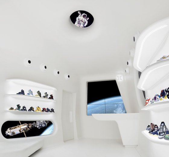 mini munich flag ship store la roca by dear design shop interiors
