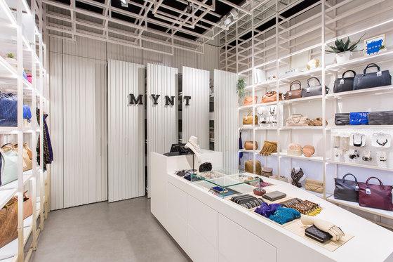 Mynt flagship store de Dear Design | Diseño de tiendas