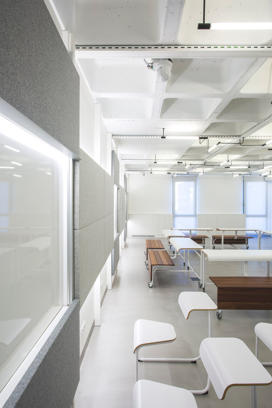 UPF Teaching Spaces by Dear Design | Office facilities