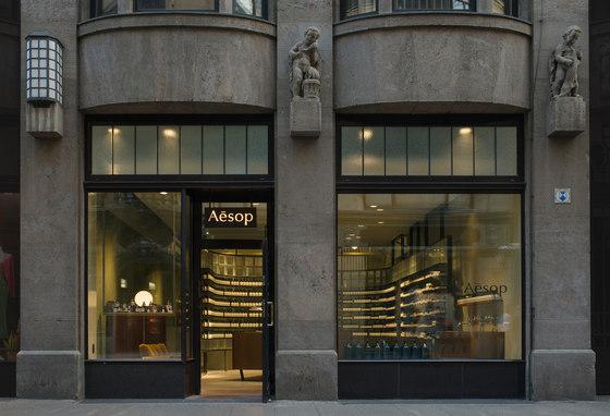 Aesop Store Leipzig de Einszu33 | Intérieurs de magasin