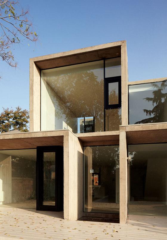 casa la ca ada by ricardo torrej n detached houses