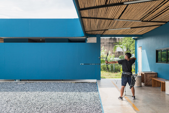 Jaransanitwong Archery Club by Archimontage Design Fields Sophisticated | Office buildings