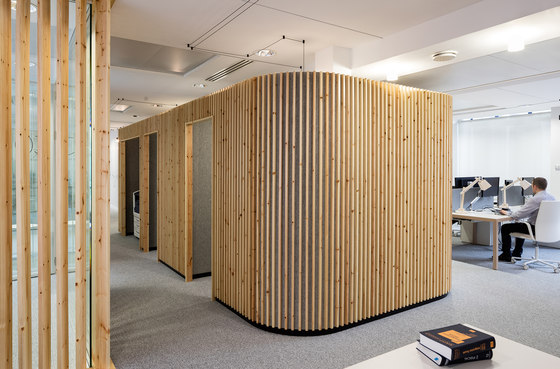 La Parisienne Headquarters by studio razavi architecture | Office facilities