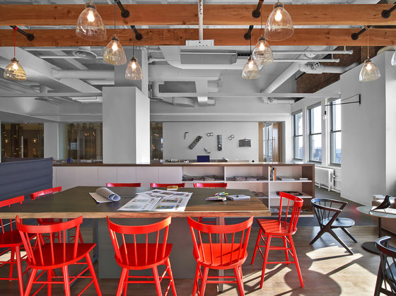 Hudson Rouge by M Moser Associates | Office facilities