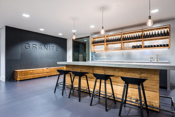 Granite search selection by furniss may office facilities