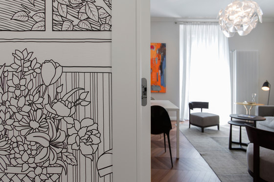 Apartment in Milan di Glamora reference projects | Manufacturer references