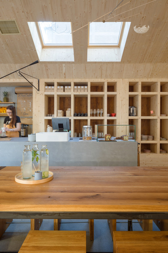 Juice Bar Cabin by NaNA (Not a Number Architects) | Restaurants