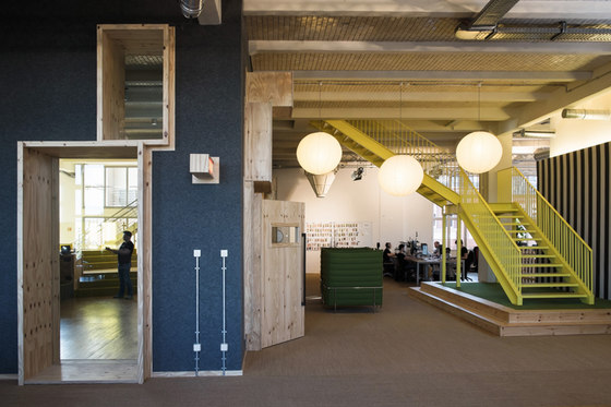 Wooga GmbH by Hülle & Fülle   Office facilities