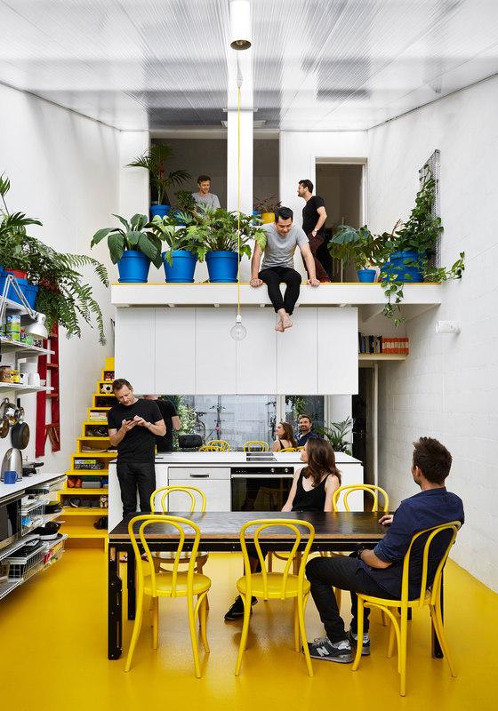 My-House by Austin Maynard Architects | Living space