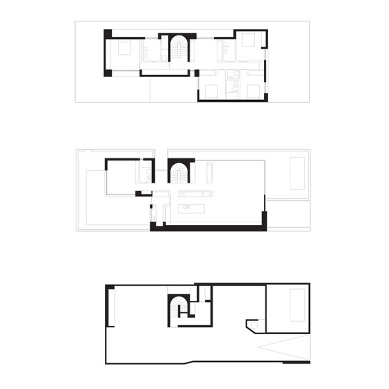 Cassell Street by b.e architecture | Detached houses