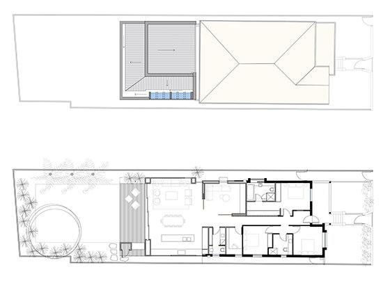 Waverley House by Porebski Architects   Detached houses