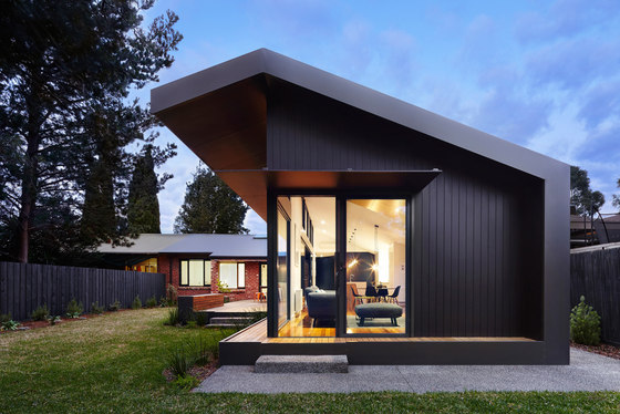The Journey House by Nic Owen Architects | Semi-detached houses