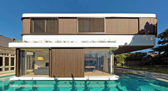 The Pool House by Luigi Rosselli Architects | Detached houses