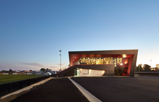 Ballarat Regional Soccer Facility by K20 Architecture | Sports facilities