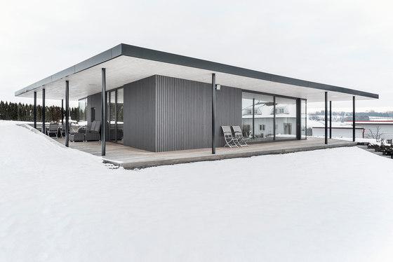 Garden house by bogenfeld architektur detached houses for Architektur garten