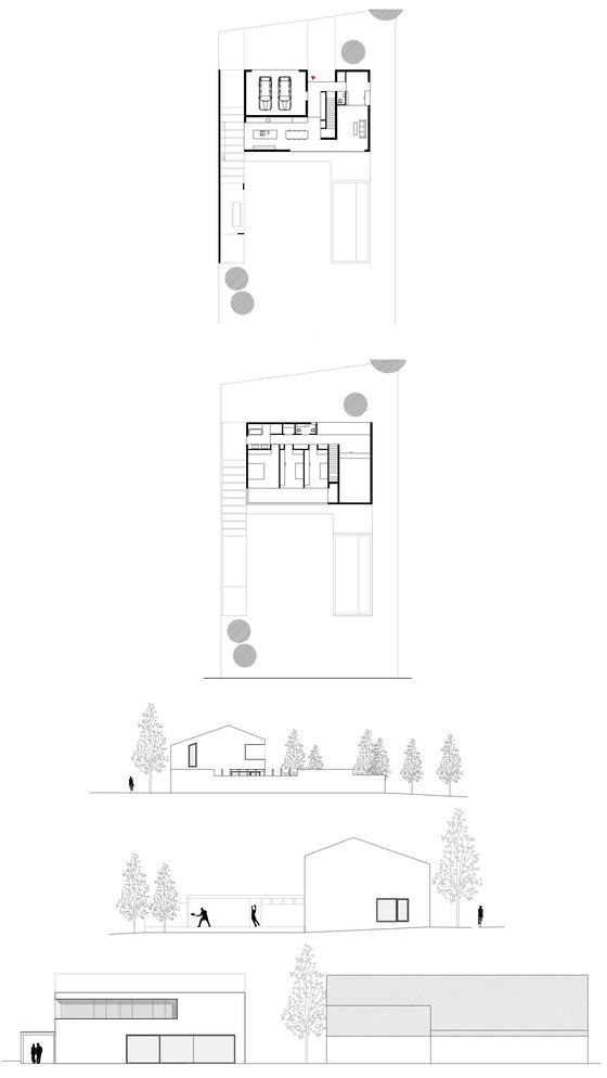 Residential House Kirchberg By Bogenfeld Architektur   Semi Detached Houses