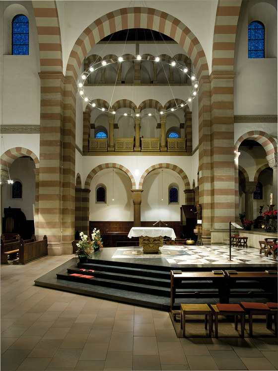 Licht Im Raum antonius basilika in rheine by licht im raum reference projects