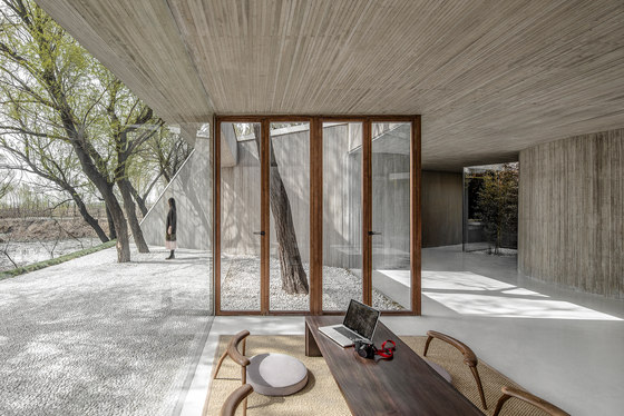 Waterside Buddhist Shrine by ArchStudio | Church architecture / community centres