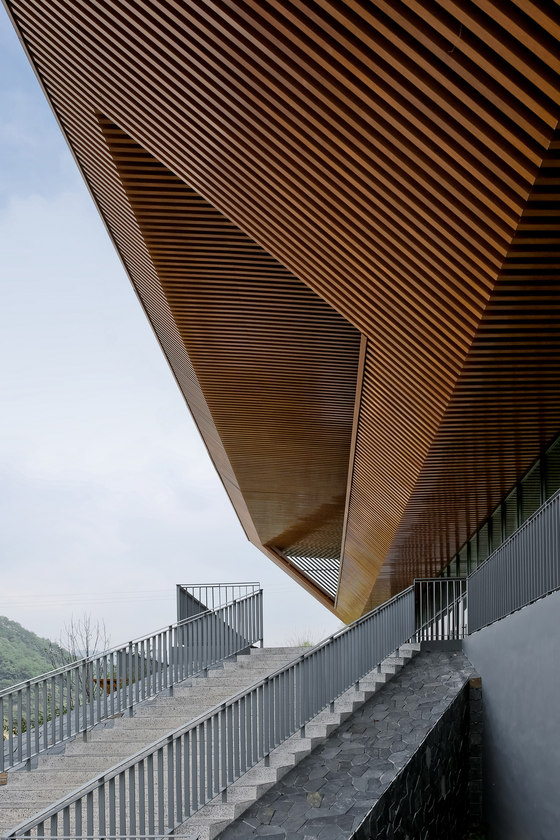 Qiandao Lake Cable Car Station by Archi-Union Architects | Infrastructure buildings