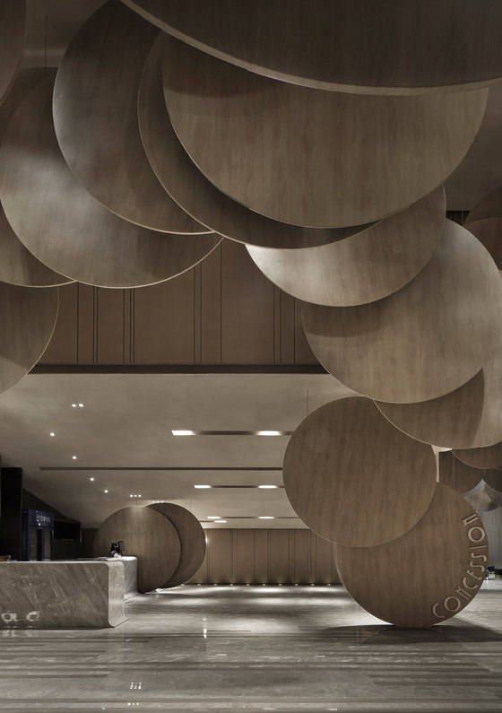 Wuhan Wushang Mall Cinema 9f by One Plus Partnership | Cinema complexes