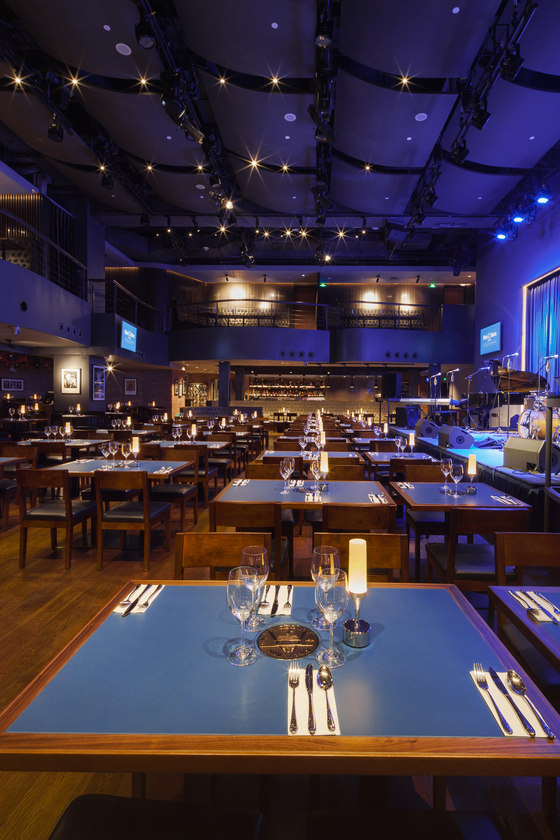 Blue Note Beijing Jazz Club by Chiasmus Partners. Inc | Bar interiors