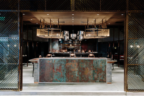 Rhoda by Joyce Wang Studio | Bar interiors