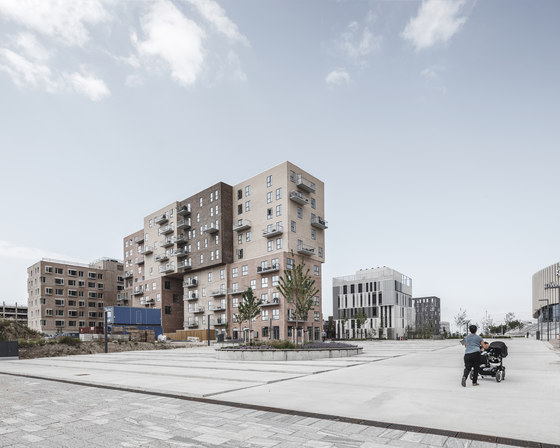 Cubic Houses by ADEPT   Apartment blocks