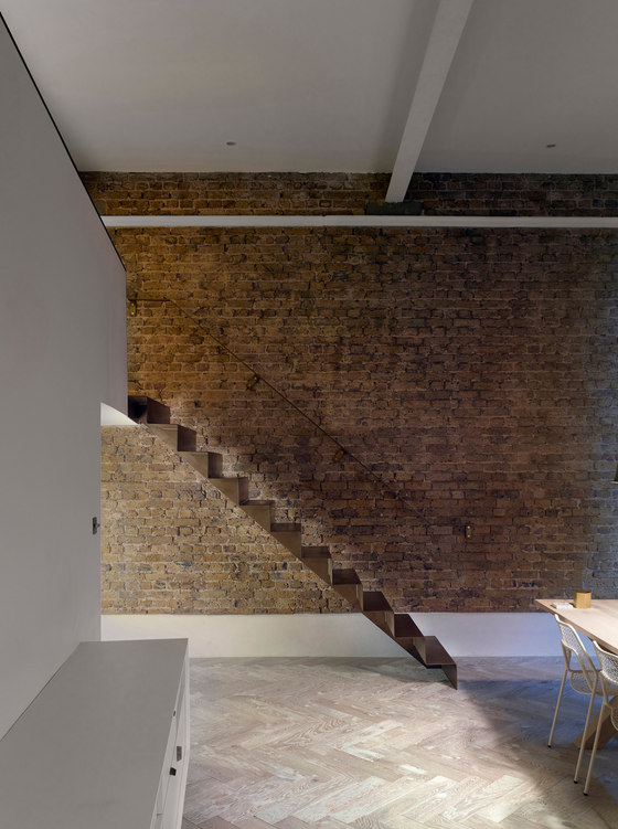 Lansdowne Drive Staircase by Bell Phillips Architects   Living space