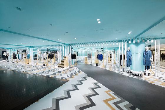 Key to style de nendo | Intérieurs de magasin