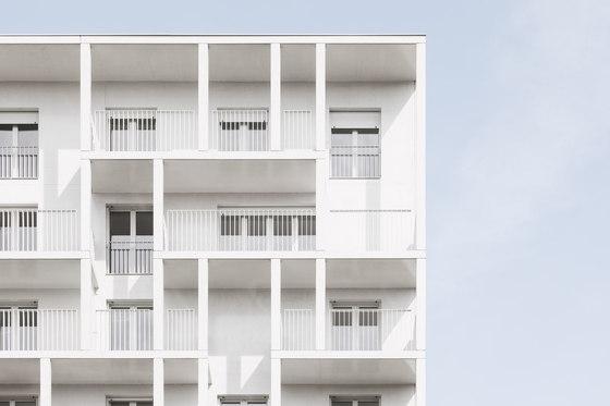 Social Housing Croisset, Paris by Hardel Le Bihan Architectes | Apartment blocks