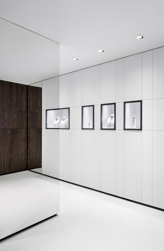 Georg Jensen Mount Street de Studio David Thulstrup   Intérieurs de magasin