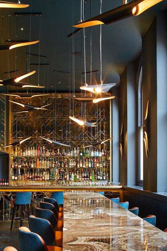Christopher's by De Matos Ryan   Café interiors