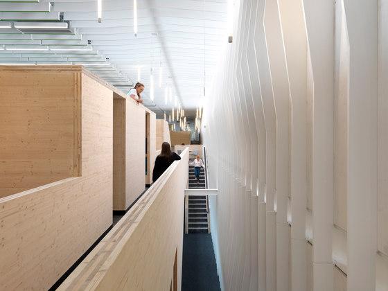 The Bridge by Threefold Architects | Office facilities