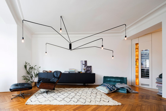 Drunt in der grünen Au by holzrausch Planung & Werkstätten   Living space