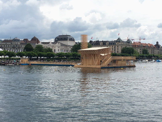 Pavilion of Reflections by Studio Tom Emerson at ETH Zürich | Temporary structures