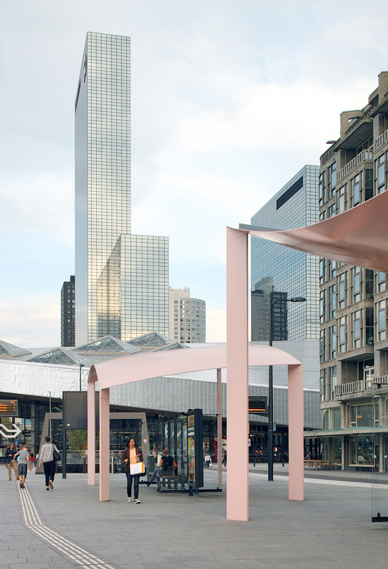 Bus Station Canopies By Maxwan Architects Urbanists