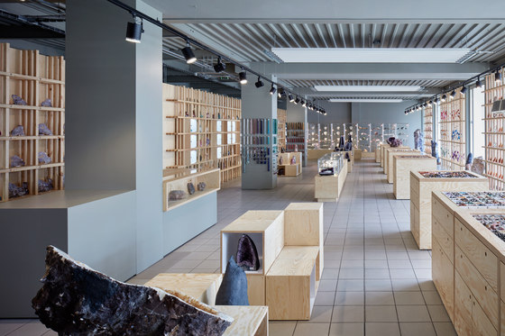 World of Stones de Henkai architects | Shop interiors