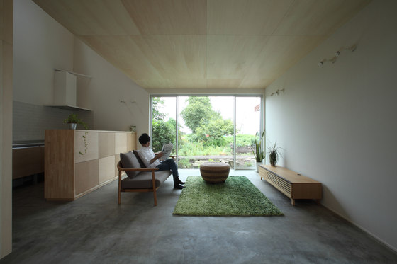 Azuchi House by ALTS Design Office | Detached houses