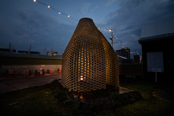 The True Talker by Studioninedots | Temporary structures